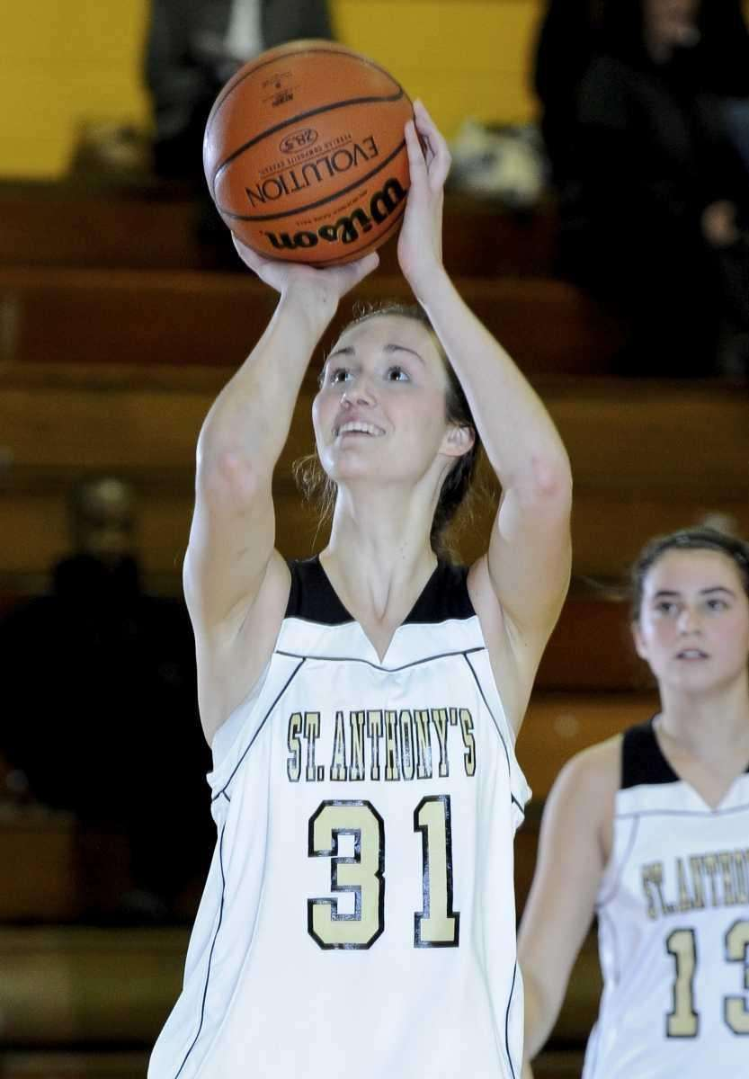 St. Anthony's Michele Impellizeri shoots during her team's