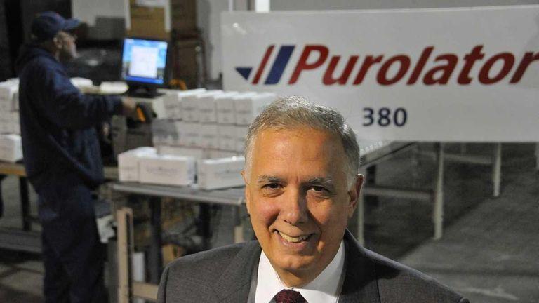 John Costanzo is president of Purolator USA, a
