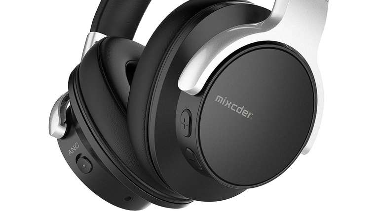 Mixcder E7 active noise-canceling headphones include a rechargeable