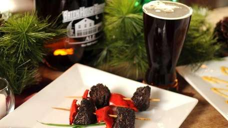 Brickhouse Brewery in Patchogue suggests beer and meat