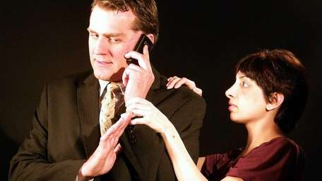 Steve Godzdiewski and Michelle Torres in Arena Players