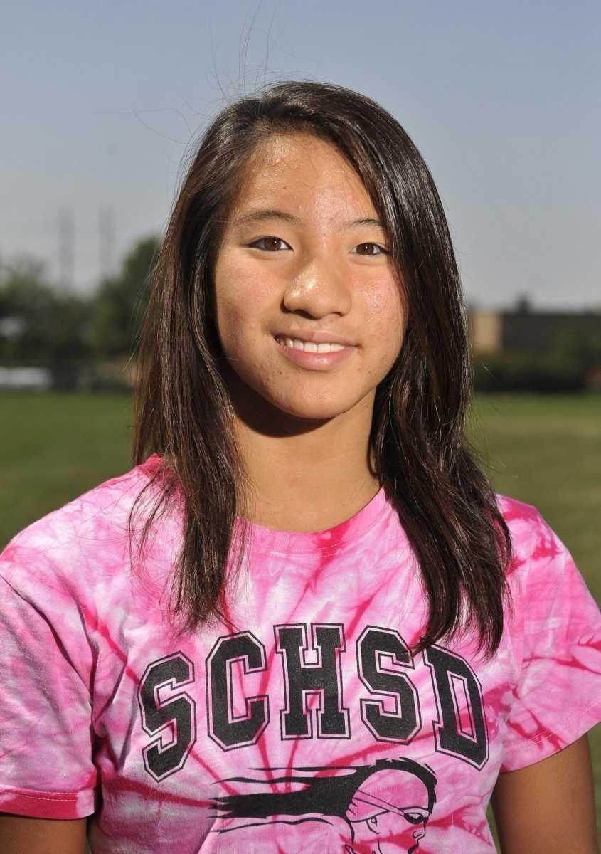 OLIVIA CHAN Sewanhaka Sophomore Chan, who swims for