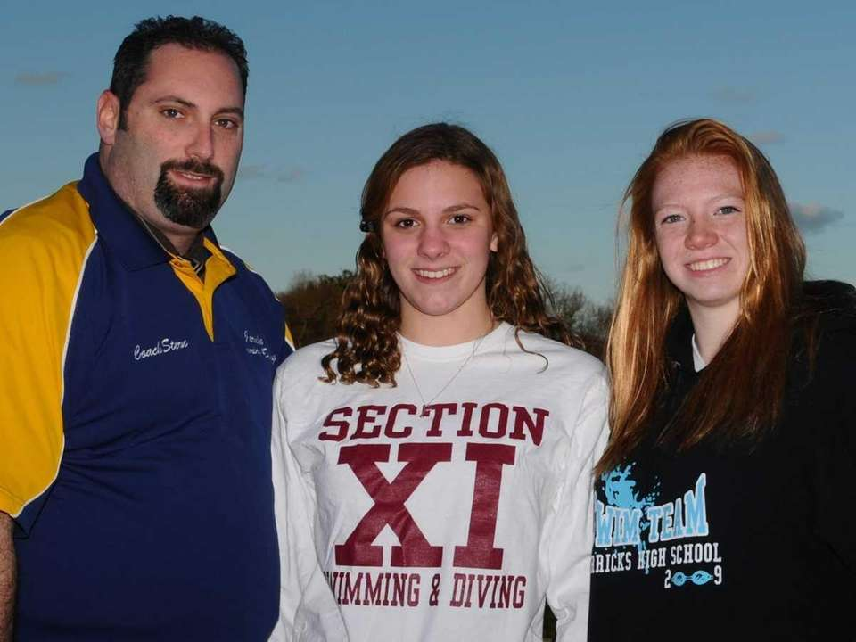 2010 ALL-LONG ISLAND SWIMMING TEAM Second team: Julianne