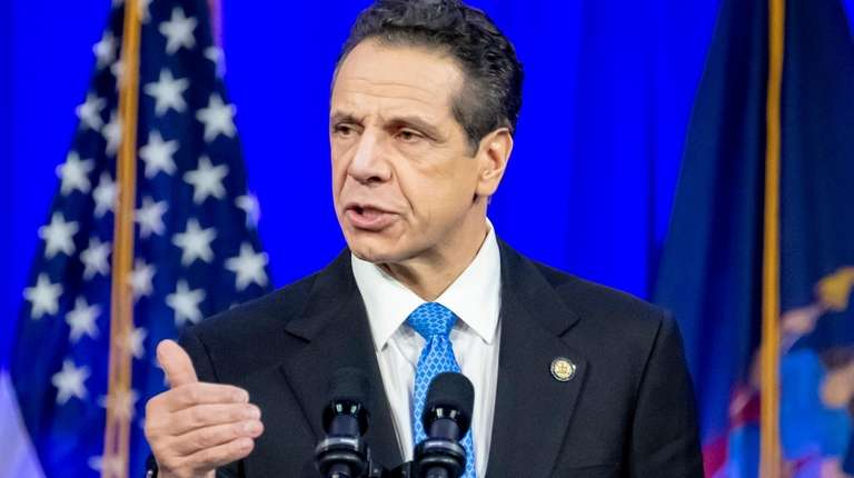 Gov. Andrew Cuomo is calling on the MTA