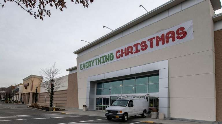 A Christmas store moved into a former Toy