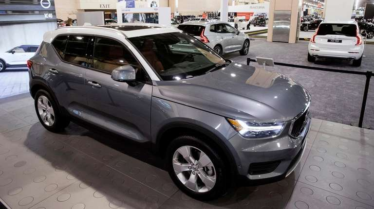 Volvo is offering the XC40, shown here on