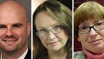David Curry, Janalyn Travis-Messer and Mary Marquez Bell