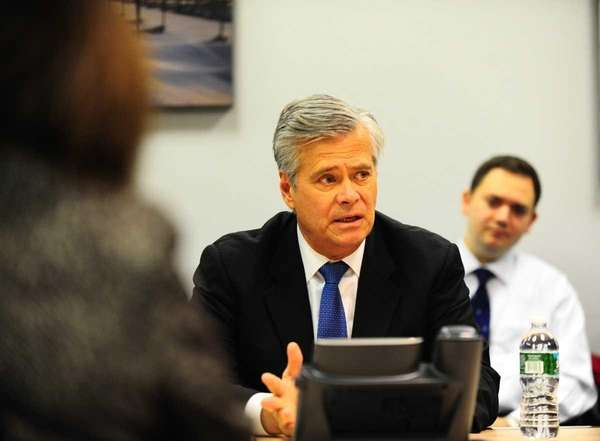 Senate Republican Leader Dean G. Skelos (R-Rockville Centre)