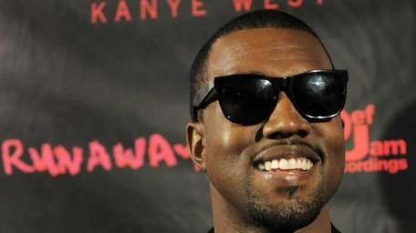 6. Kanye West Everywhere we turned this year,