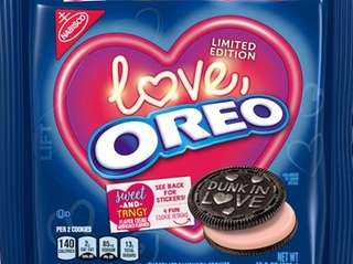 The seasonal spin on Oreo cookies feature the