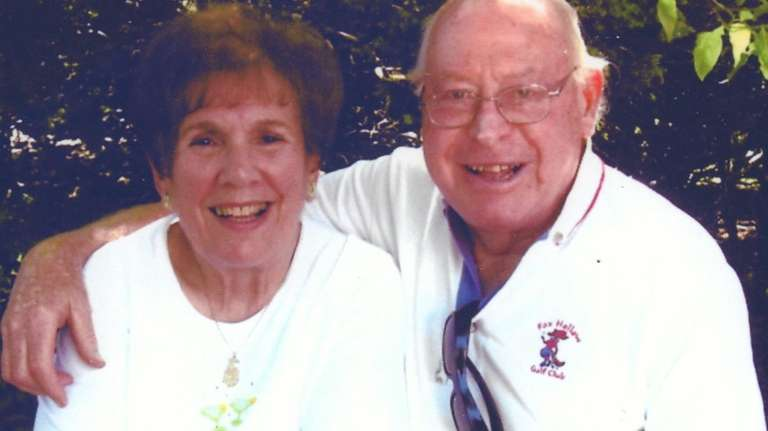 Loretta and Morton Laurence of Melville, seen in