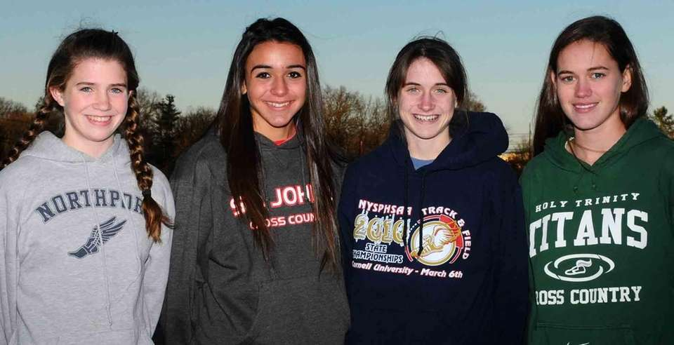 Newsday's 2010 All-Long Island girls cross country team: