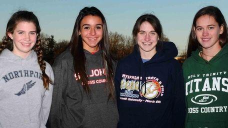 Newsday's 2010 All-Long Island girls cross country team: