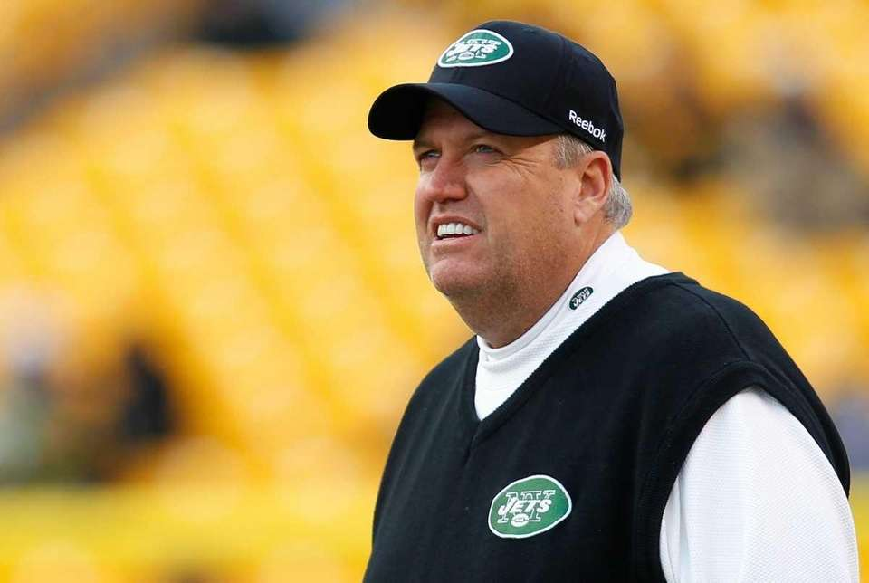 PITTSBURGH - DECEMBER 19: Head coach Rex Ryan