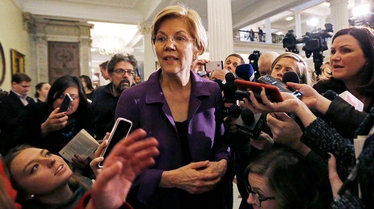 Sen. Elizabeth Warren (D-Mass.) has created an exploratory