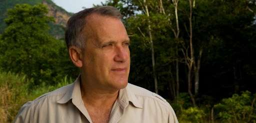 Zoologist Alan Rabinowitz in an undated photo provided