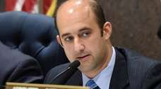 Suffolk Legis. Rob Calarco (D-Patchogue), shown in 2017,