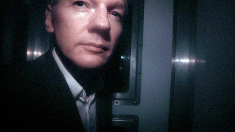 WikiLeaks founder Julian Assange leaves the City of