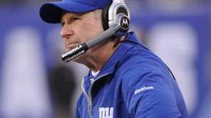 Giants coach Tom Coughlin has been through his