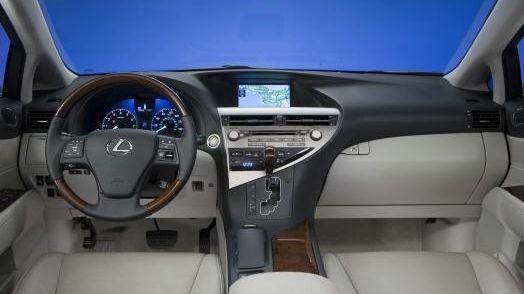 2011 RX 350 interior