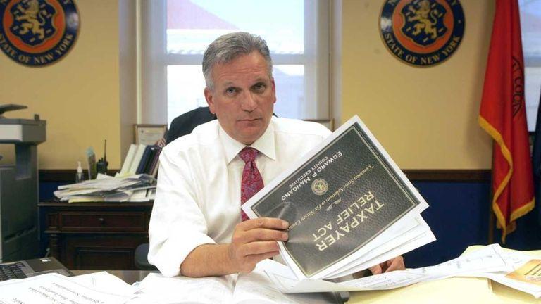 Nassau County Executive Edward Mangano noted noted that