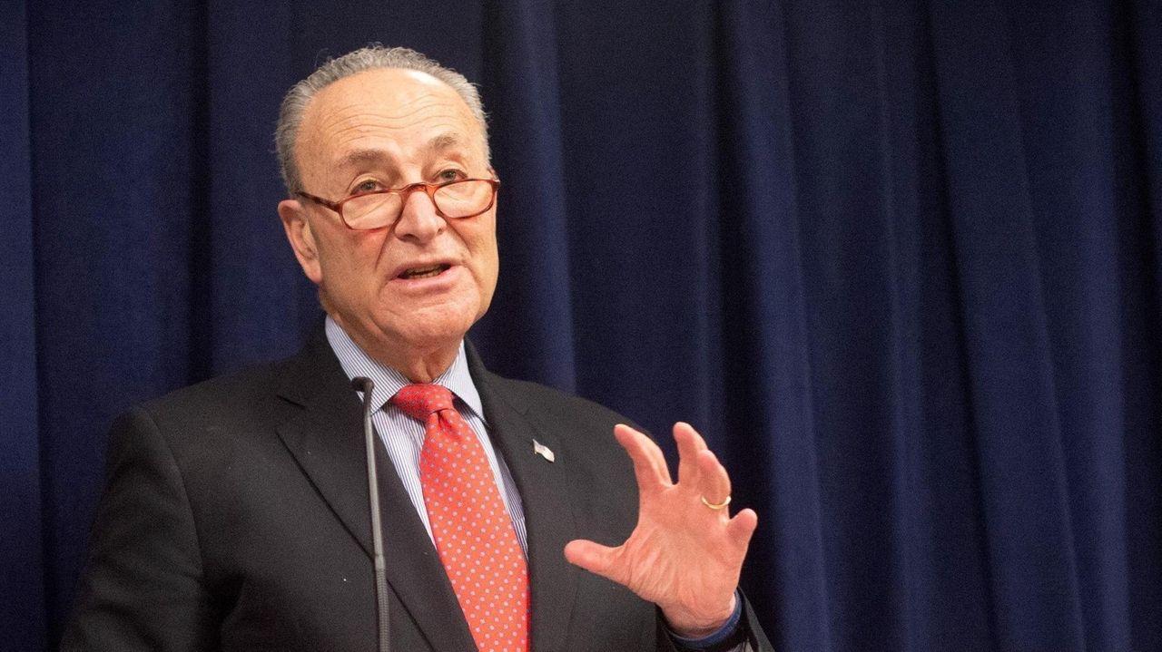 Senate Minority Leader Chuck Schumer said at a