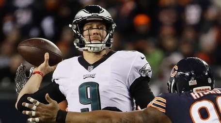 Nick Foles and the Eagles are two wins