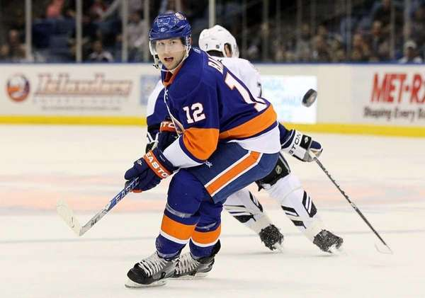 The Islanders' Josh Bailey skates against the Tampa