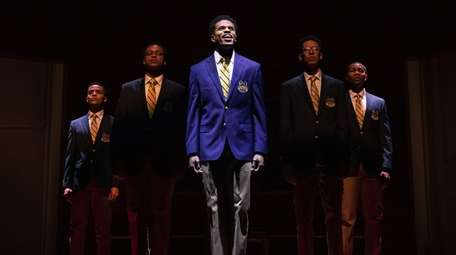 """Choir Boy"" stars, from left, Nicholas L. Ashe,"