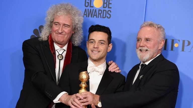 Brian May, left, and Roger Taylor, right, of