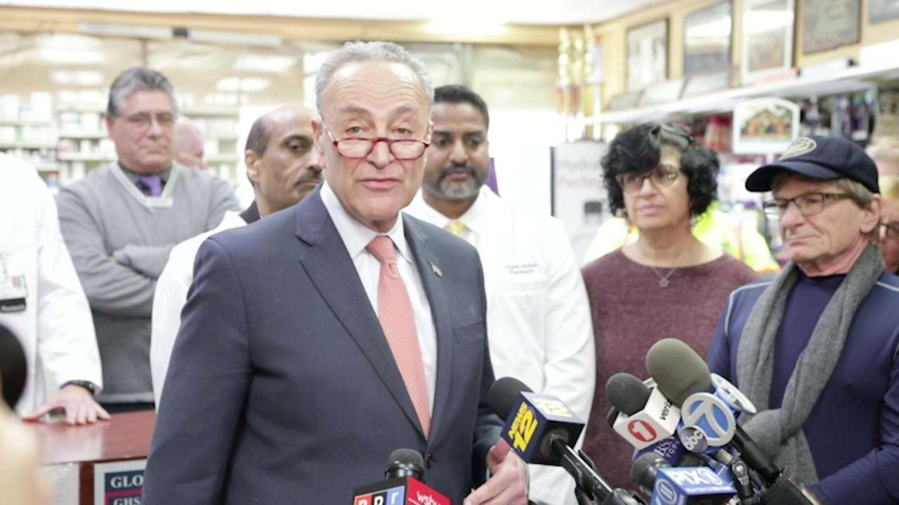 On Monday, Sen. Chuck Schumer gave his support
