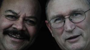 Childhood friends Roger Ferrara (left) and Thomas Lambert