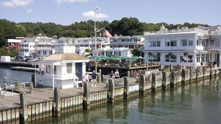 Danfords Hotel & Marina is on Port Jefferson