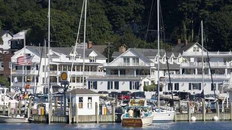 Danfords Hotel & Marina is located on Port