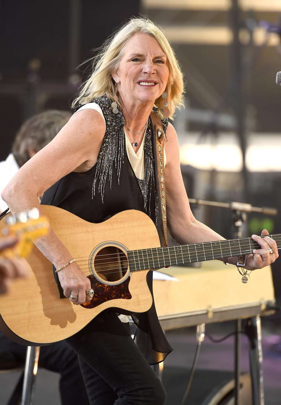 Pegi Young, who with fellow musician and then-husband