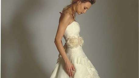This Yolanda Couture gown is one of several