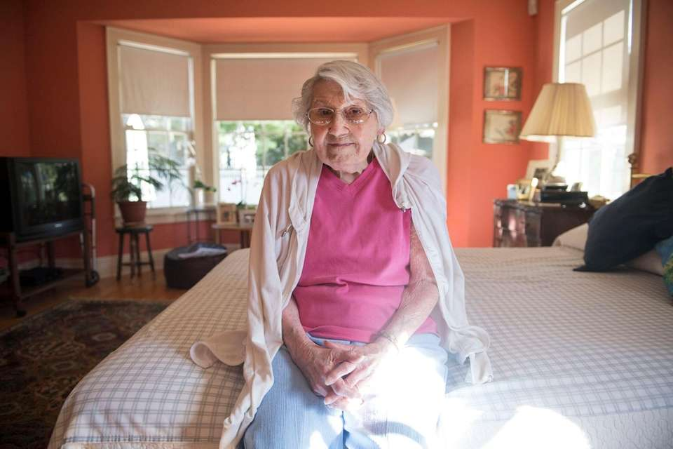 Mary Galterio, pictured in Rockville Centre on Oct.