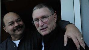 Roger Ferrara, left, was certain he would die