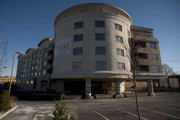 Exterior of the new five-story Viana Hotel and
