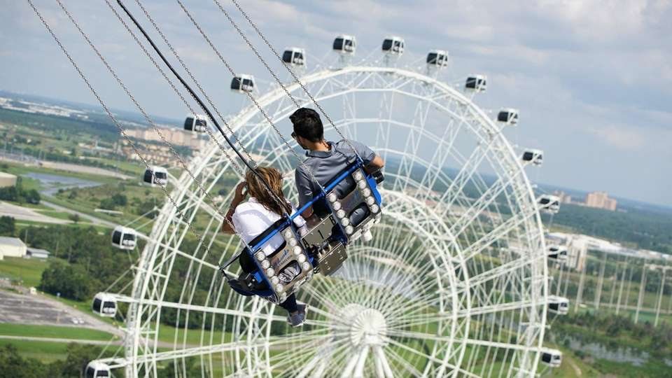 Hop on new Starflyer, the world's tallest spinning