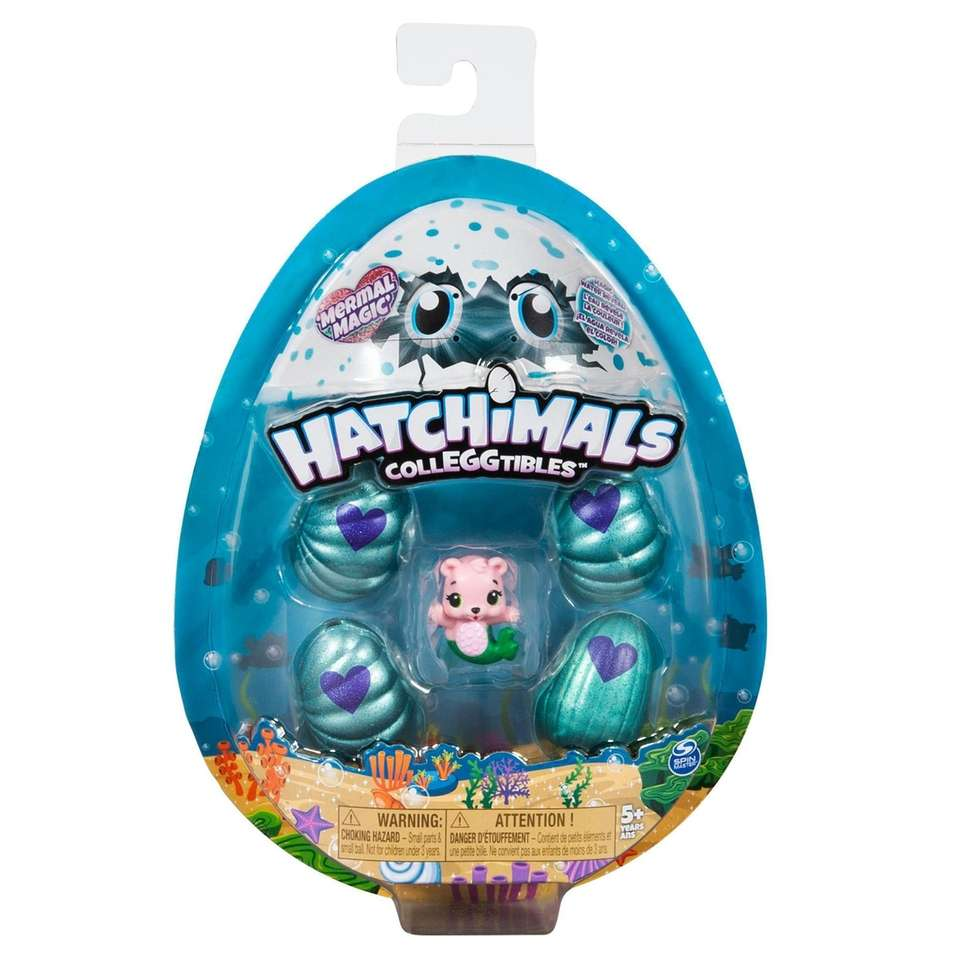 The new line of Hatchimals Collegtibles come in