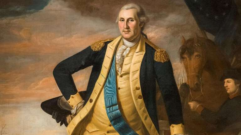 A portrait of General George Washington by Charles