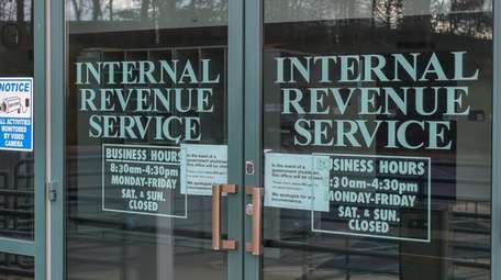 The IRS building on Dec. 26 in Hauppauge.