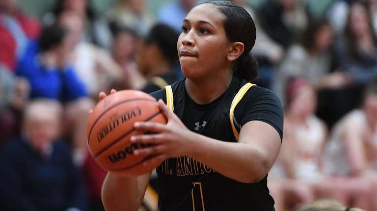 Athlete of the Week is St. Anthony's girls basketball player Sydney Taylor
