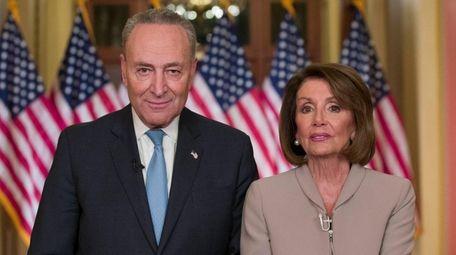 Senate Minority Leader Chuck Schumer and House Speaker
