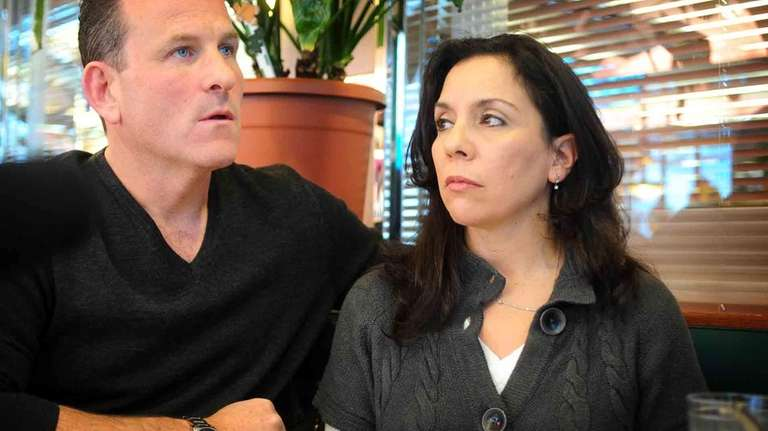 Mike Marks and Joanne Cicciaro-Marks, the mother of