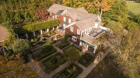 This Shelter Island property features a one-bedroom carriage