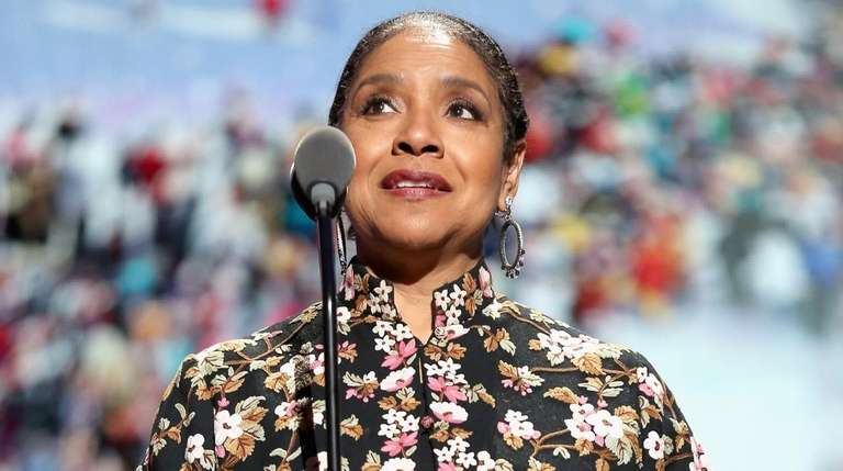 Phylicia Rashad speaks onstage at The Apollo Theater