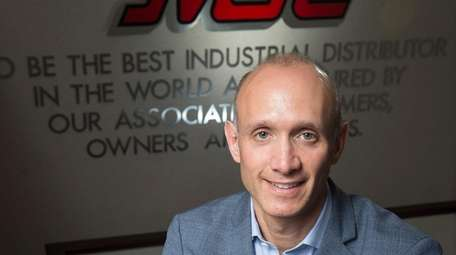 MSC Industrial Supply chief executive and president Erik