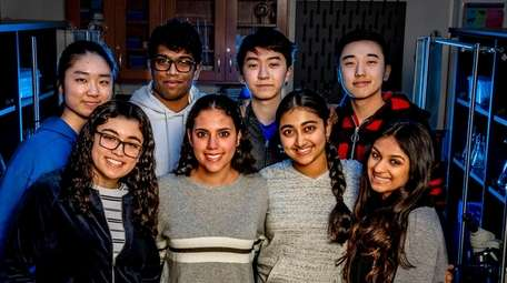 These eight Jericho High School seniors were named